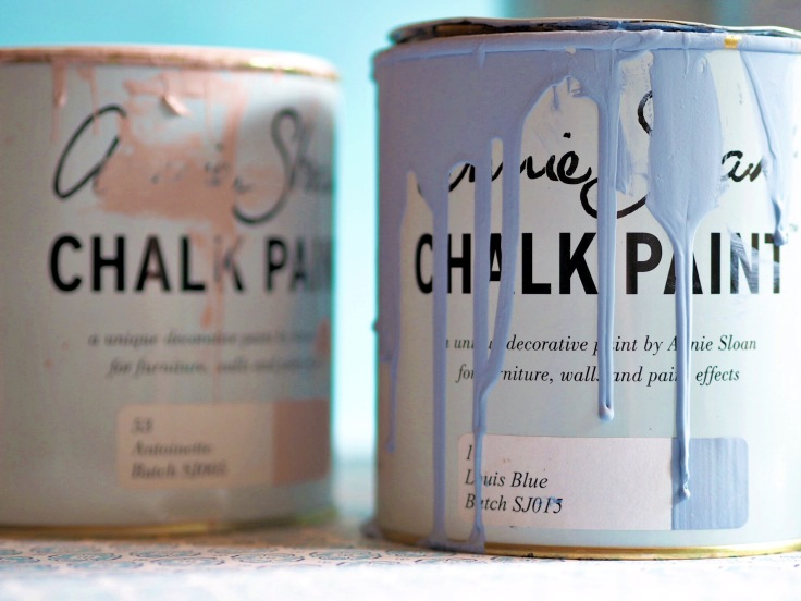 Annie Sloan Chalk Paint Workshop | Louis Blue and Antoinette
