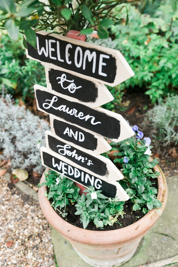 Welcome Sign | Handmade Wedding