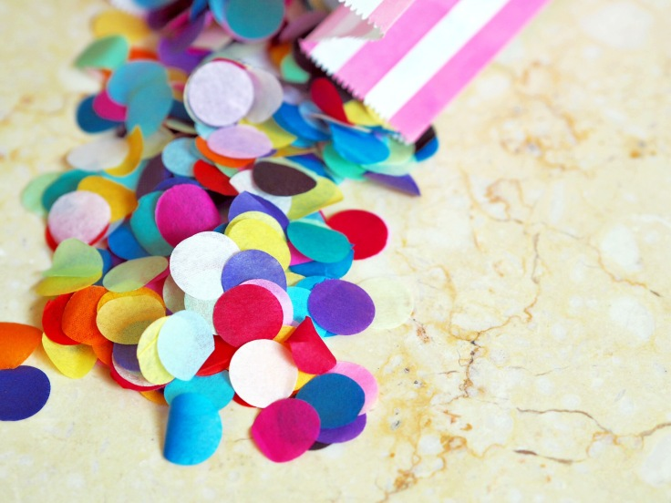 DIY Confetti Ideas | Handmade Wedding | DIY Wedding | Rainbow Confetti | Floral Confetti